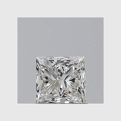 2.01 Carat Princess, K Colour, SI1 Clarity, Lab Grown Diamond