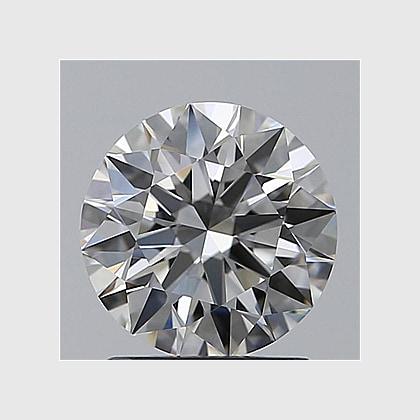 1.06 Carat Round, H Colour, VVS2 Clarity, Lab Grown Diamond