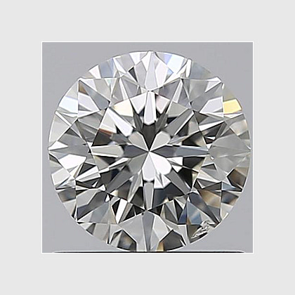 1.28 Carat Round, K Colour, SI1 Clarity, Lab Grown Diamond