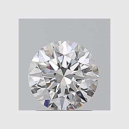 1.50 Carat Round Lab Grown Diamond