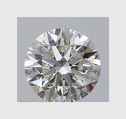 0.90 Carat Round, K Colour, VS2 Clarity, Lab Grown Diamond