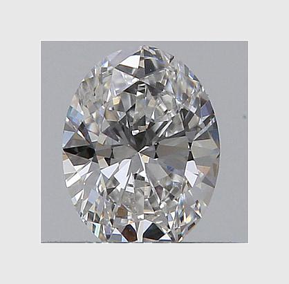 0.94 Carat Oval, G Colour, VS2 Clarity, Lab Grown Diamond