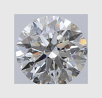 1.00 Carat Round, J Colour, SI1 Clarity, Lab Grown Diamond