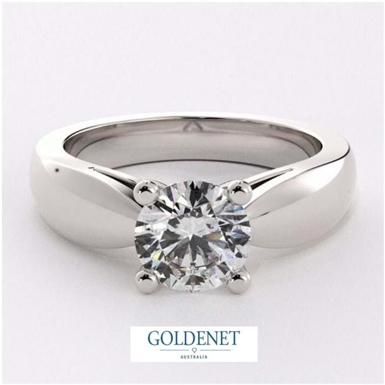 bold solitaire ring