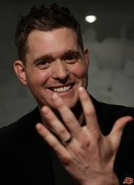 Michael Buble ring