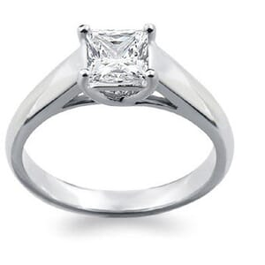 1287 -  Tiffany Style Lucida Solitaire Engagement Ring