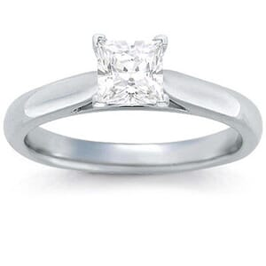 1337 -  Solitaire Diamond Engagement Ring