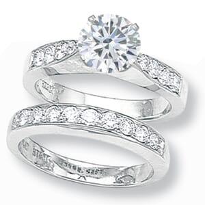 2557 -  Diamond Matching Set (0.60 Ct. Tw.)