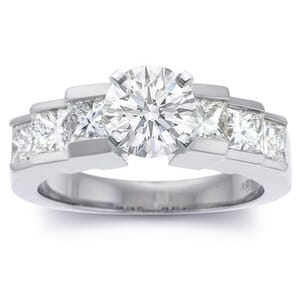 2782 -  Diamond Engagement Ring (1.3 Ct. Tw.)