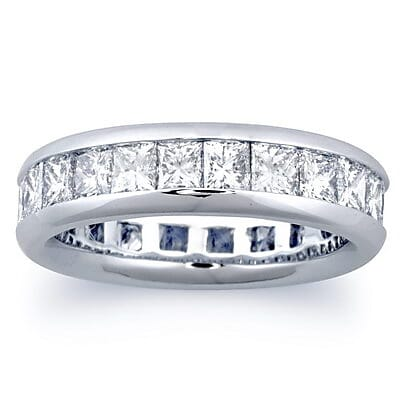3 carat princess cut diamonds ring