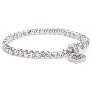 3317 - Elegant Diamond Bracelet Set With Round Brilliant Diamonds (2 ¼ Ct. Tw.)