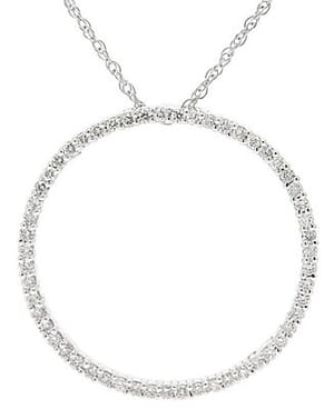 3667 - Circle Of Life / Circle Of Love Diamond Pendant 0.85 Carat, Set With Round Brilliant Diamonds