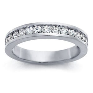4182 - Channel-Set Diamond Band (1/2 Ct. Tw.)