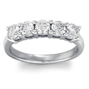 4192 -  Five-Stone Diamond Band (1/2 Ct. Tw.)