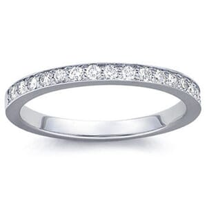 4197 -  Pavé-Set Diamond Band (1/5 Ct. Tw.)