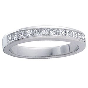 4202 -  Princess-Cut Diamond Band (1/2 Ct. Tw.)