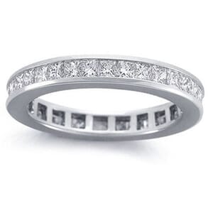 4212 -  Princess-Cut Diamond Eternity Band