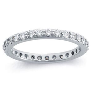 4227 -  Pavé Eternity Band (1 Ct. Tw.)