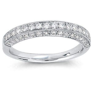 4252 -  Pavé Diamond Wedding Band (1/2 Ct. Tw.)