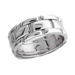 4267 - 8.25 Mm  Wedding Ring 14 Grams