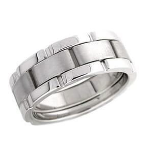 4272 - 8 Mm  Wedding Ring 14 Grams