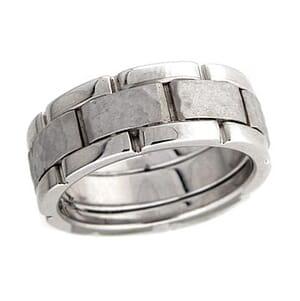 4277 - 8 Mm  Wedding Ring 14 Grams