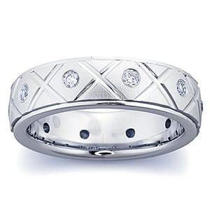 4282 - Diamond Ring Set With Round Brilliant Diamonds (0.35 Ct. Tw.)