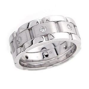 4287 - Diamond Ring Set With Round Brilliant Diamonds (0.30 Ct. Tw.)