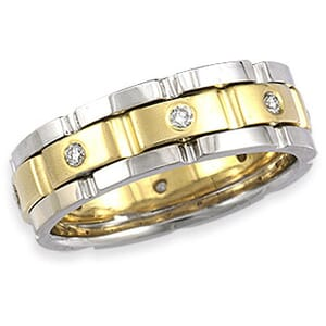 4292 - Diamond Ring Set With Round Brilliant Diamonds (0.30 Ct. Tw.)