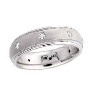 4307 - Diamond Ring Set With Round Brilliant Diamonds (0.33 Ct. Tw.)