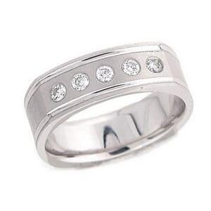 4312 - Diamond Ring Set With Round Brilliant Diamonds (¼ Ct. Tw.)