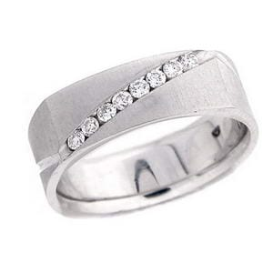 4332 - Diamond Ring Set With Round Brilliant Diamonds (¼ Ct. Tw.)