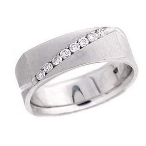 4332 - Diamond Ring Set With Round Brilliant Diamonds (¼ Ct. Tw.)