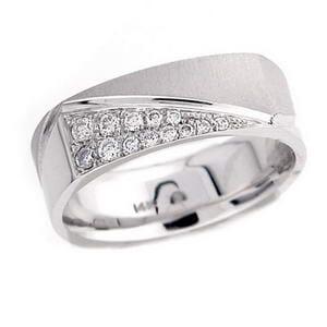 4342 - Diamond Ring Set With Round Brilliant Diamonds (¼ Ct. Tw.)