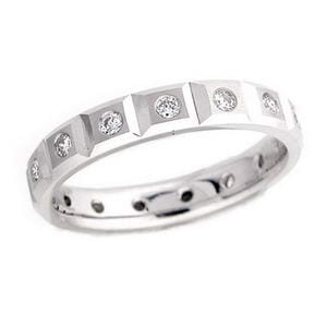 4367 - Diamond Wedding Ring 1/2 Carat, Set With Round Brilliant Diamonds