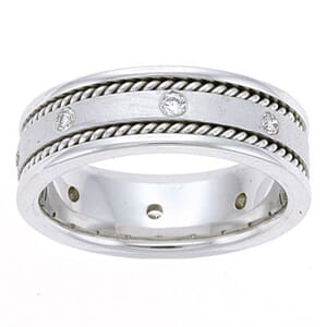 4472 - Diamond Ring Set With Round Brilliant Diamonds (¼ Ct. Tw.)