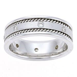 4472 - Diamond Ring Set With Round Brilliant Diamonds (¼ Ct. Tw.)