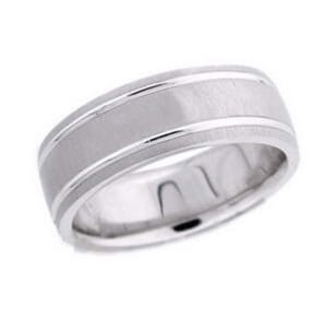 4517 - 7.5 Mm  Wedding Ring 12 Grams