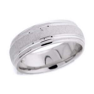 4522 - 7.25 Mm  Wedding Ring 10 Grams