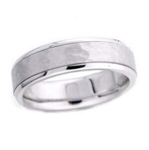 4542 - 6 Mm  Wedding Ring 10.2 Grams