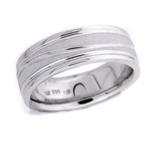 4552 - 6.25 Mm  Wedding Ring 11.5 Grams
