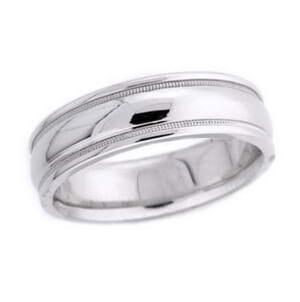 4567 - 6.25 Mm  Wedding Ring 9.1 Grams