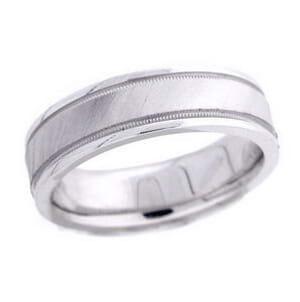 4617 - 6 Mm  Wedding Ring 9.7 Grams