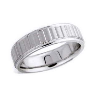 4632 - 6 Mm  Wedding Ring 9 Grams