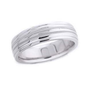 4637 - 6.25 Mm  Wedding Ring 9.75 Grams