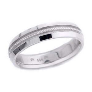 4677 - 5 Mm  Wedding Ring 7.2 Grams