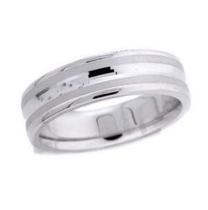 4742 - 6 Mm  Wedding Ring 9.6 Grams