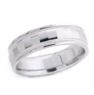 4747 - 6 Mm  Wedding Ring 8.3 Grams