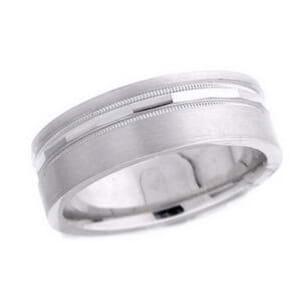 4752 - 7 Mm  Wedding Ring 11 Grams