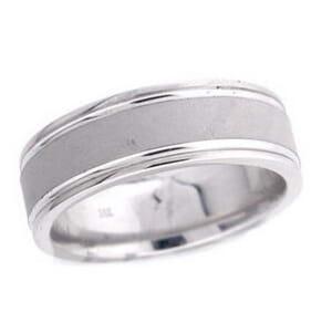 4767 - 7 Mm  Wedding Ring 10.9 Grams
